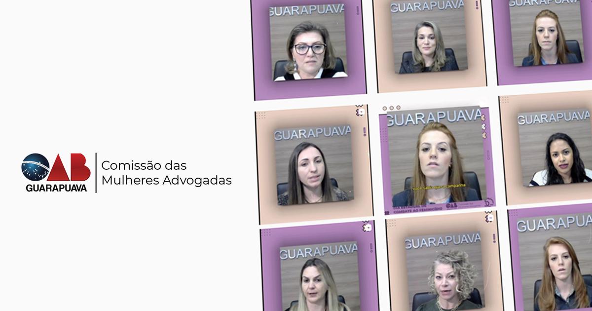 CMA da Subseção faz série de vídeos informativos sobre combate à violência doméstica