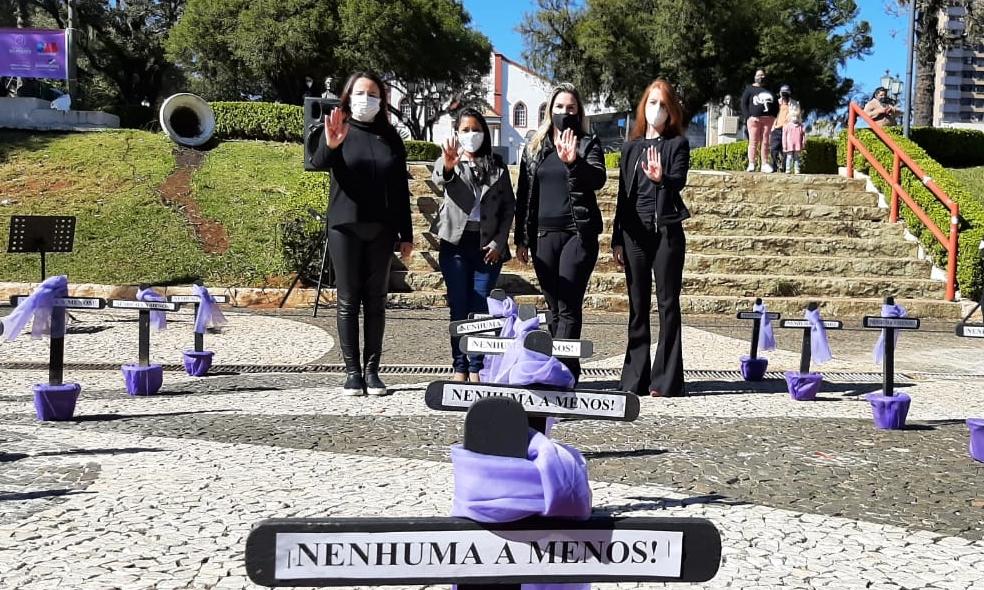 OAB Guarapuava marca presença em ações de combate ao feminicídio
